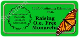 Raising O.e. free Monarch Seal